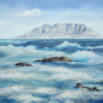 Sea and Waves – Oil Painting