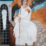 Beli Andjeo (White Angel) – Oil painting