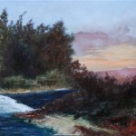 River Stream – Oil Painting
