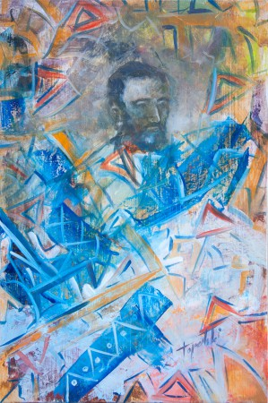 Fine Art - Dreams of Goyas - Original Oil Painting on HDF by artist Darko Topalski