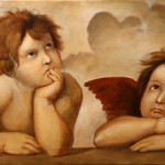 Raphael's Angels – Oil Painting