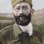 Dragoljub Draza Mihailovic - Oil Painting on Canvas by artist Darko Topalski