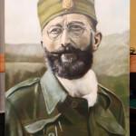 Fine Art - Dragoljub Draža Mihailovic - Original Oil Painting on HDF canvas board by artist Darko Topalski