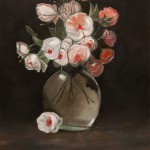 Flowers in a Vase – Oil Painting