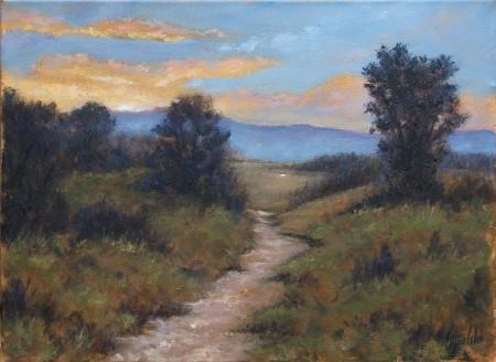Fine Art -  Twilight - Original Acrylics and Oil Painting on Canvas by artist Darko Topalski