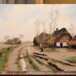 An Old Farm – Oil Painting