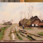 An Old Farm – Oil Painting