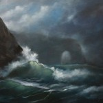 Stormy Sea – Oil Painting
