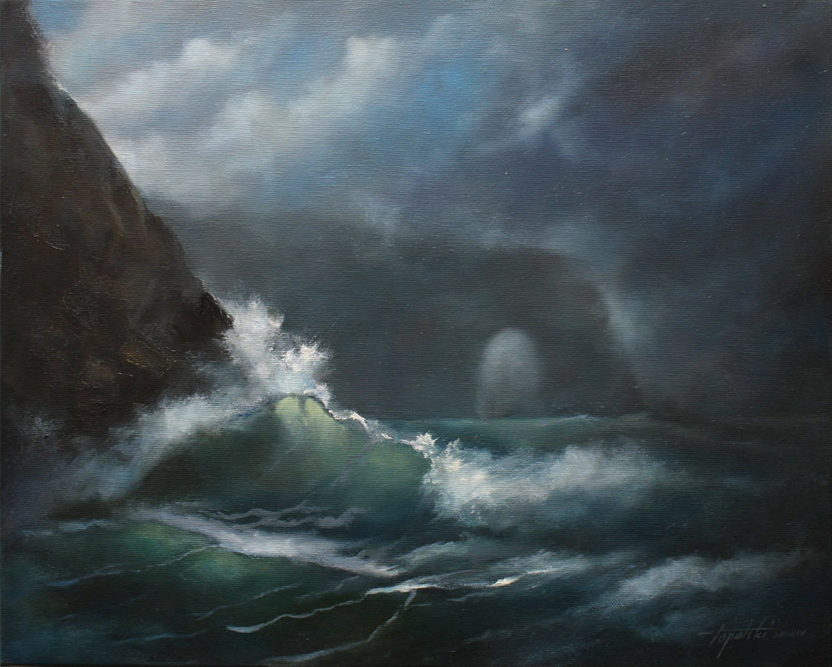 Famous Paintings Of Stormy Seas