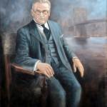 Michael Idvorski Pupin - Oil Painting by artist Darko Topalski
