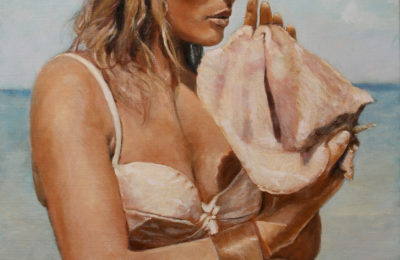 By the Seaside – Oil Painting