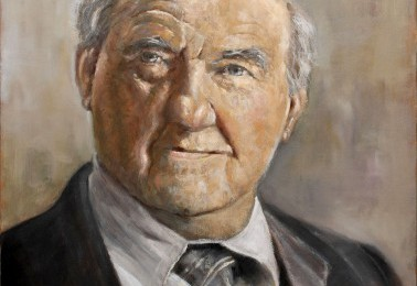 Karl Malden – Oil Painting