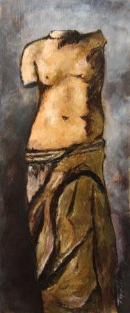 Fine Art - Goddess - Oil Original Painting artwork on Canvas by artist Darko Topalski gallery arts