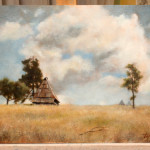 Mountain Cottage – Oil Painting