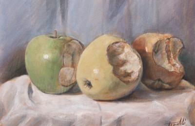 I-Painting Apple – Acrylic Painting