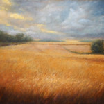 Barley Field – Oil Painting