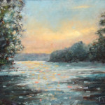 Discovering River – Oil Painting