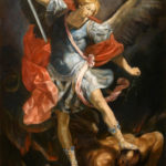Archangel Michael – Oil Painting