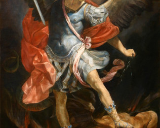 Archangel Michael – Oil Painting