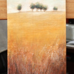 Distant Trees 1 – Oil Painting