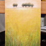Distant Trees 2 – Oil Painting