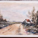 Country Road  – Watercolor Painting