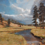 Mountain Creek – Oil Painting