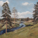 Mountain Stream – Oil Painting