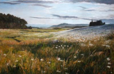 Flowery Fields – Oil Painting