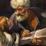 Saint Matthew the Apostle with Angel – Oil Painting