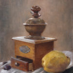 Quince and Pepper – Oil Painting