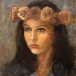 Ramonna sitting portrait – Oil Painting