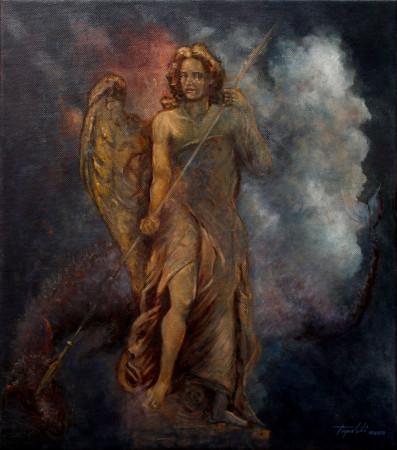 Fine Art - Sacre Coeur - Original Oil Painting on Canvas by artist Darko Topalski