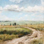 Country Road  – Landscape oil painting