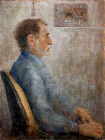 Fine Art - Georg - Oil Original Painting artwork on Canvas by artist Darko Topalski gallery arts