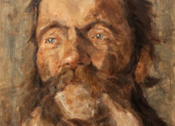 Head of an old Man – Portrait Oil Painting