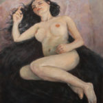 Sleeping Beauty – Figurative Oil Painting