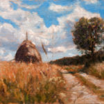 Tara Road – Landscape oil painting