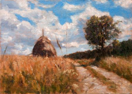 Fine Art - Tara Road - Original Oil Painting on Canvas by artist Darko Topalski