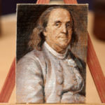 Benjamin Franklin – ACEO Oil Painting