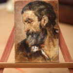 Head of a Man – ACEO Oil Painting