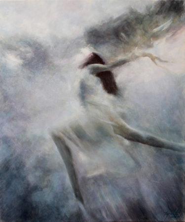 Fine Art - Freedom - Original Oil Painting on Canvas by artist Darko Topalski
