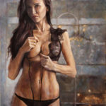 L'Agent – Oil Painting