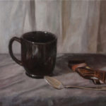 Un Cafe – Oil Painting