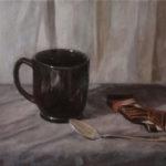 Un Cafe – Oil Painting