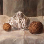 Walnuts – Oil Painting