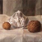 Walnuts – Oil Painting