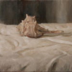 Sea Snail – Bolinus Brandaris – Oil Painting