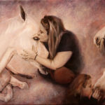 Fine Art - Horses - Original Oil Painting on Canvas by artist Darko Topalski