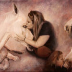 Horses – Figurative Equine Oil painting